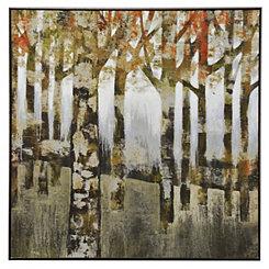 Fall Colored Landscape Framed Art Print