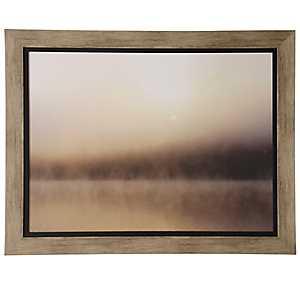 Hazy Abstract Framed Art Print