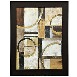 Contemporary Geometric Framed Art Print