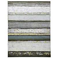 Contemporary Stripe Canvas Art Print