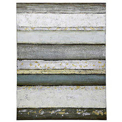 Contemporary Stripe Canvas Art Print