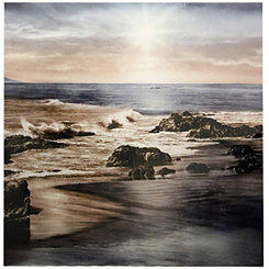 Sunset on the Sea Metal Art Print