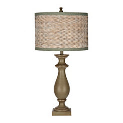 Avignon Green Coastal Table Lamp