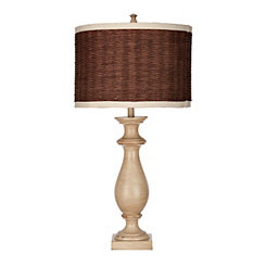 Mackinaw Tan Coastal Table Lamp