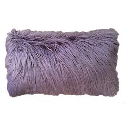 Nirvana Keller Faux Fur Accent Pillow