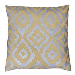 Gail Yellow Foil Pillow