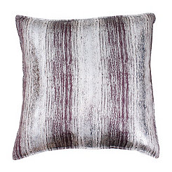 Christopher Indigo and Gold Jacquard Pillow