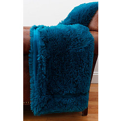 Ocean Depths Faux Fur Blanket