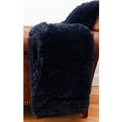 Parisian Night Faux Fur Blanket