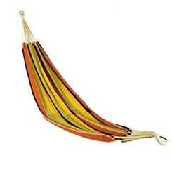 Fall Colors Striped Single Person Hammock