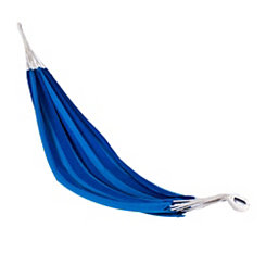 Blue Striped Single Person Hammock