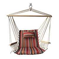 Spice Striped Hammock Chair