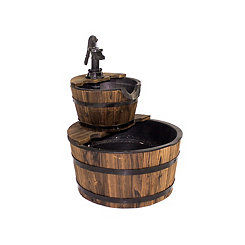 Barrel Water Fountain