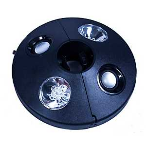 LED Umbrella Light and Bluetooth Speaker