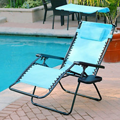 Aqua Zero Gravity Chair with Sunshade and Tray