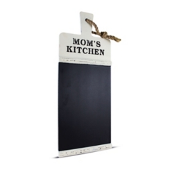 Mom's Kitchen Chalkboard Wall Plaque