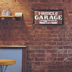 Muscle Garage LED Marquee Plaque