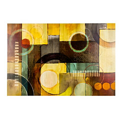 Geometric Shapes Canvas Art Print
