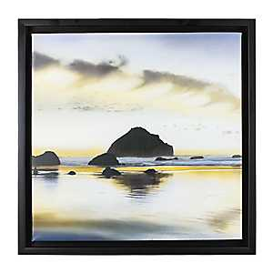 Sunrise on the Coast I Framed Canvas Art Print