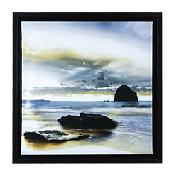 Sunrise on the Coast II Framed Canvas Art Print