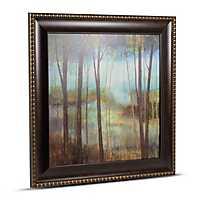 Impressionist Forest Framed Canvas Art Print