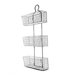 3-Tier Wire Hanging Storage Baskets