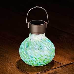Blue and Green Solar Tea Lantern