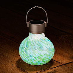 Blue and Green Solar Tea Lantern