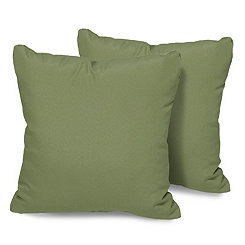 Cilantro Outdoor Pillows, Set of 2