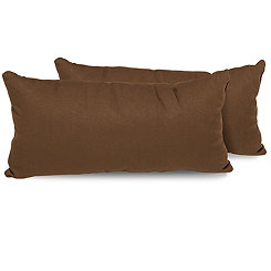 Cocoa Outdoor Accent Pillows, Set of 2