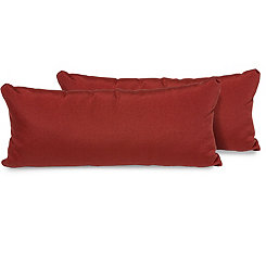 Terracotta Outdoor Accent Pillows, Set of 2
