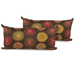 Sunburst Outdoor Accent Pillows, Set of 2