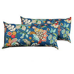 Wildflower Outdoor Accent Pillows, Set of 2