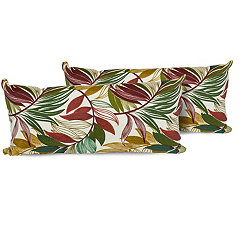 Sesame Palm Outdoor Accent Pillows, Set of 2
