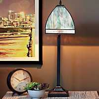Ocean Stained Glass Table Lamp