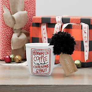 Running on Coffee Ceramic Mug