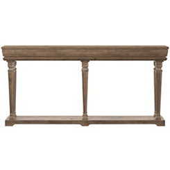Tiffany Weathered Console Table