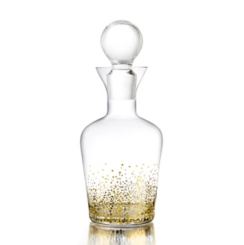 Gold Luster Decanter
