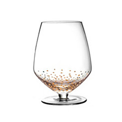 Gold Luster Pinot Noir Glasses, Set of 4