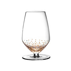 Gold Luster Sauvignon Glasses, Set of 4