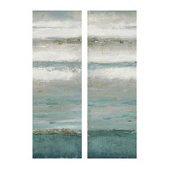 Abstractions Soft Canvas Art Prints, Set of 2