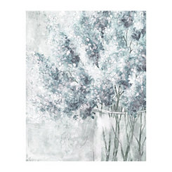 Soft Blues Natural Selection Canvas Art Print