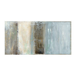 Abstractions V Horizontal Panel Canvas Art Print
