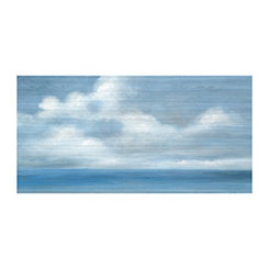 Beach Sky Memory Canvas Art Print