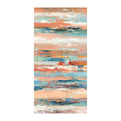 Terracotta Stratis Canvas Art Print