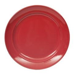 Red Bologna Dinner Plate