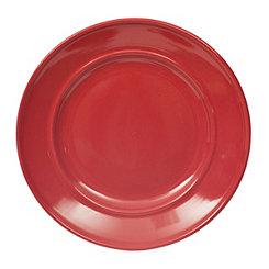 Red Bologna Salad Plate