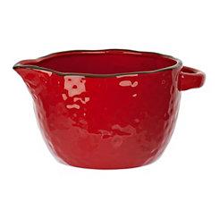 Red Antique Batter Bowl