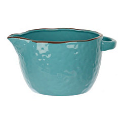 Aqua Antique Batter Bowl