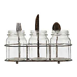 Fork, Knife, and Spoon Flatware Caddy
